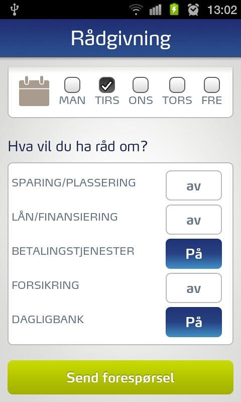 SpareBank 1 Mobile Banking- screenshot