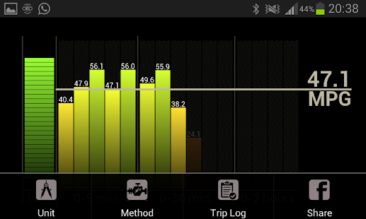 Fuel Economy for Torque Pro - screenshot thumbnail