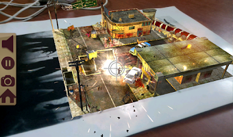Screenshot of Table Zombies AR Lite
