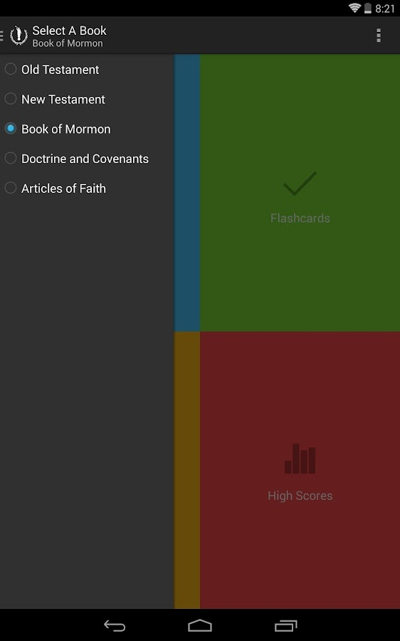 Scripture Mastery - screenshot
