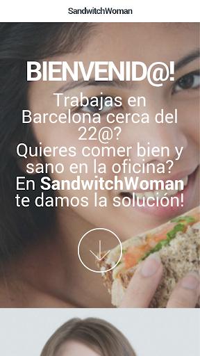 Sandwitch Woman - Barcelona22