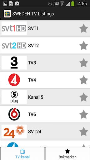 TV Tablå Sverige - Program