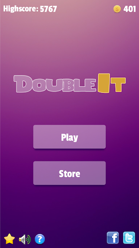 Double It - Number Puzzle Game