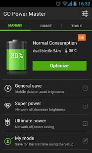 GO Battery Saver & Widget - screenshot thumbnail