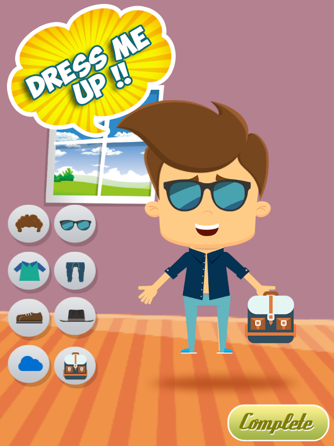 Clothes Designing Games For Kids Boy Dress Up Game for Kids