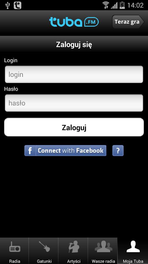 Tuba.FM - free music and radio- screenshot