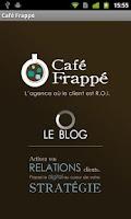 Screenshot of Café Frappé