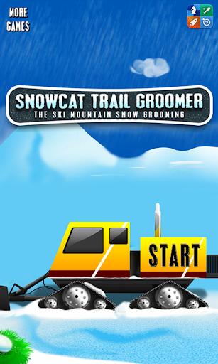 Snowcat Trail Groomer : Ski +