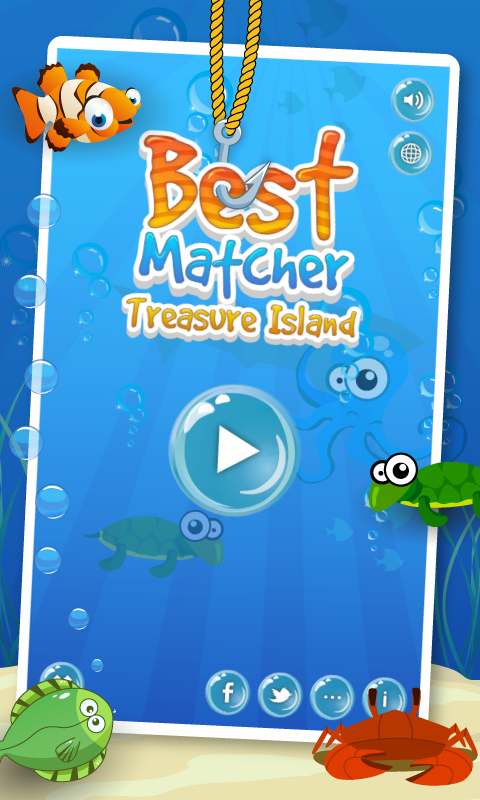 Best Match Treasure Island - screenshot