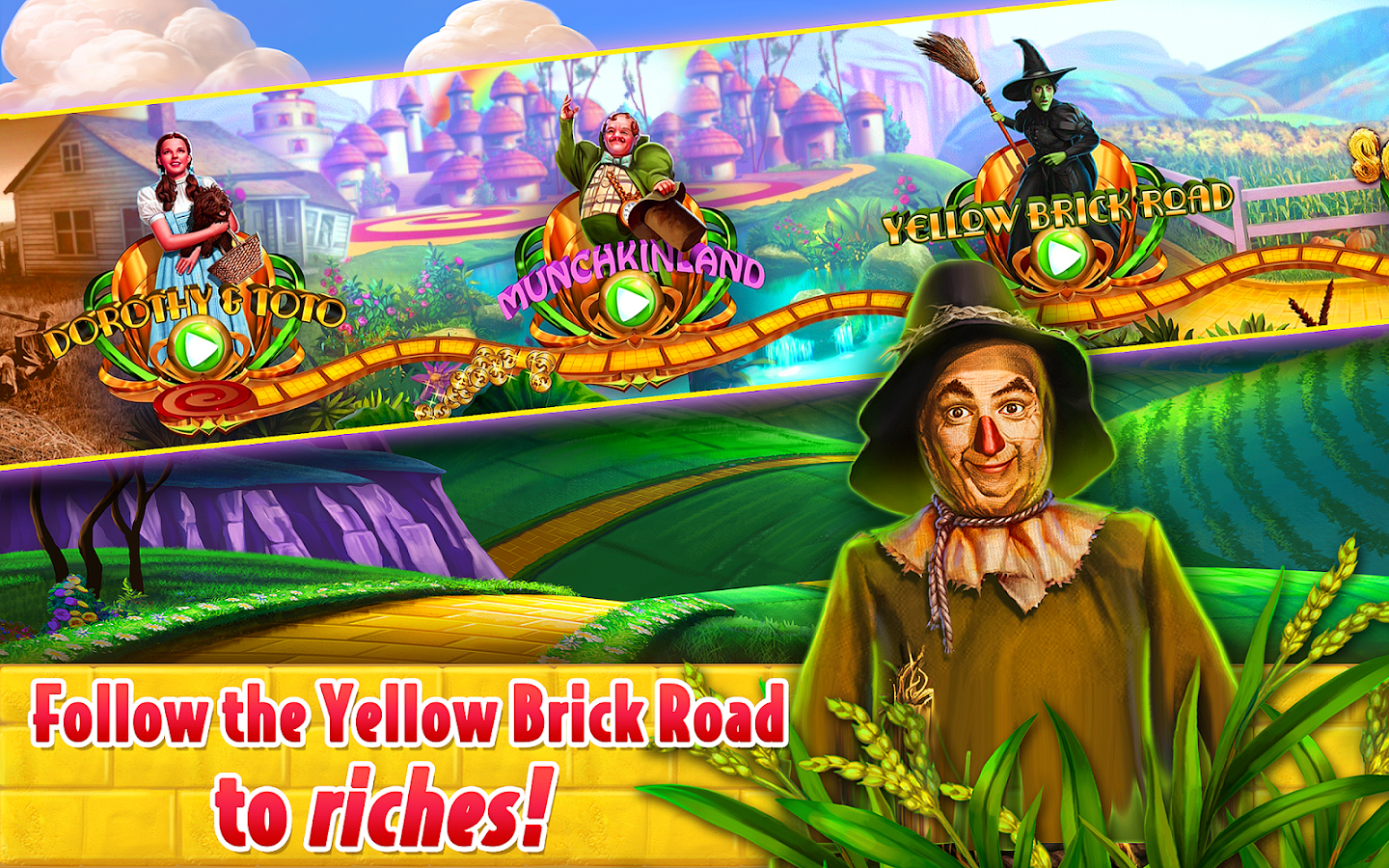 slot wizard of oz online