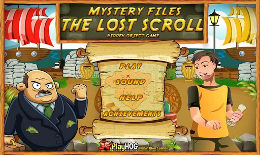 Lost Scroll Free Hidden Object