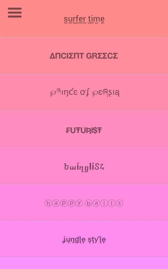 Fontsy+ Cool fonts on Kik Line - screenshot