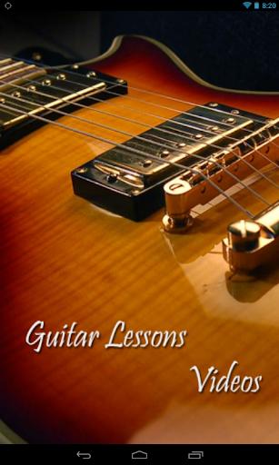 Guitar Lessons Videos