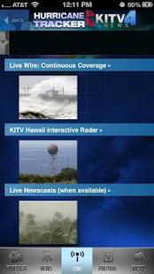 Hurricane Tracker KITV - screenshot thumbnail