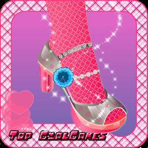鞋設計師 - 時尚遊戲 家庭片 LOGO-阿達玩APP