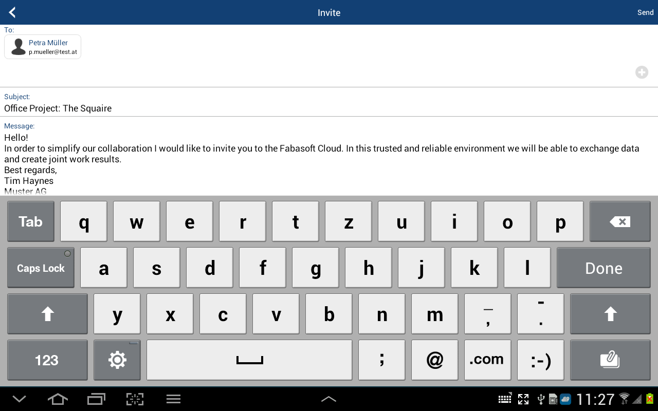 Fabasoft Cloud - screenshot