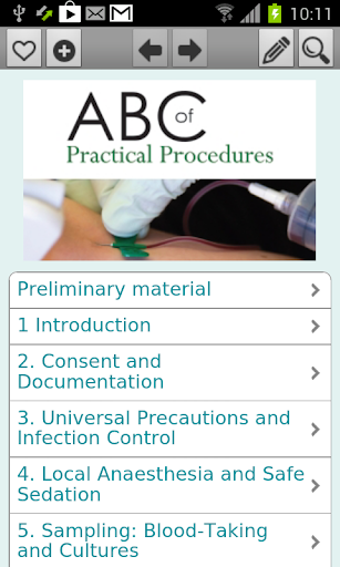 ABC of Practical Procedures