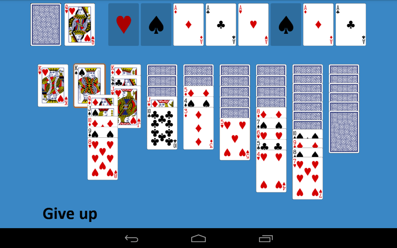solitaire games with 2 decks of cards