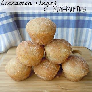 Cinnamon Sugar Mini-Muffins.