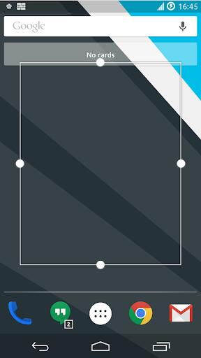 Invisible Widget+