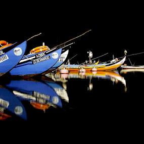 Names by José Sobral - Transportation Boats ( fishery, names, boats, river )