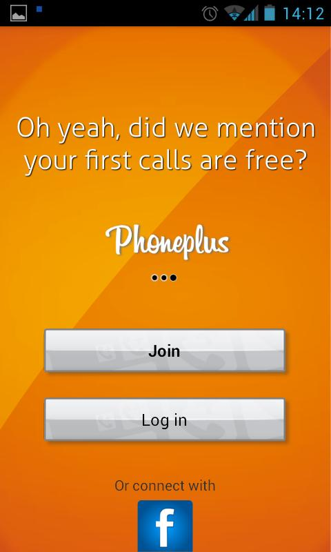 Phoneplus Cheap Calls - screenshot
