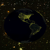 Earth night 3D LWP