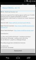 Screenshot of MUGL - Multi-Up Grocery List