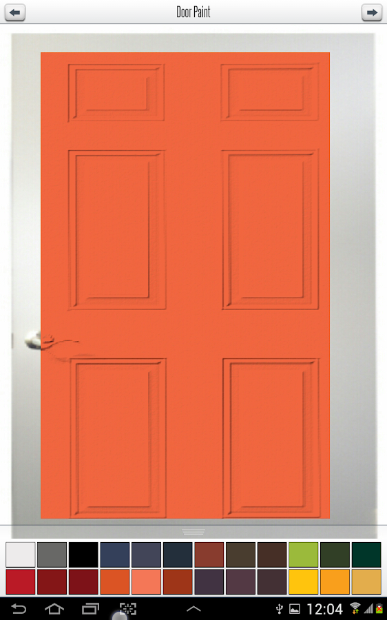 Front Door Paint- screenshot