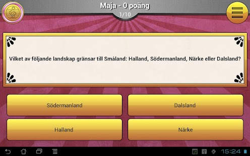 ExQuizit - Sverige Lite - screenshot thumbnail