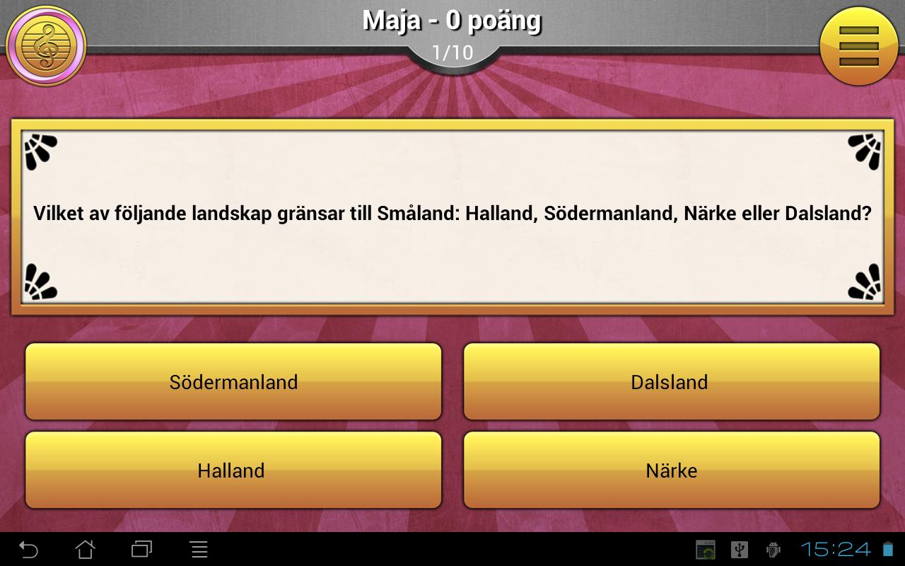 ExQuizit - Sverige Lite - screenshot