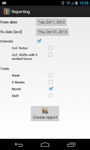 FlexR (Shift planner) - screenshot thumbnail
