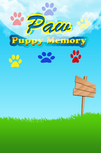 Paw Puppy Memory