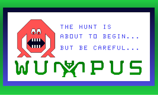 Hunt The Wumpus - screenshot thumbnail