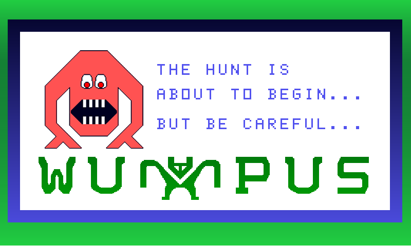 Hunt The Wumpus - screenshot