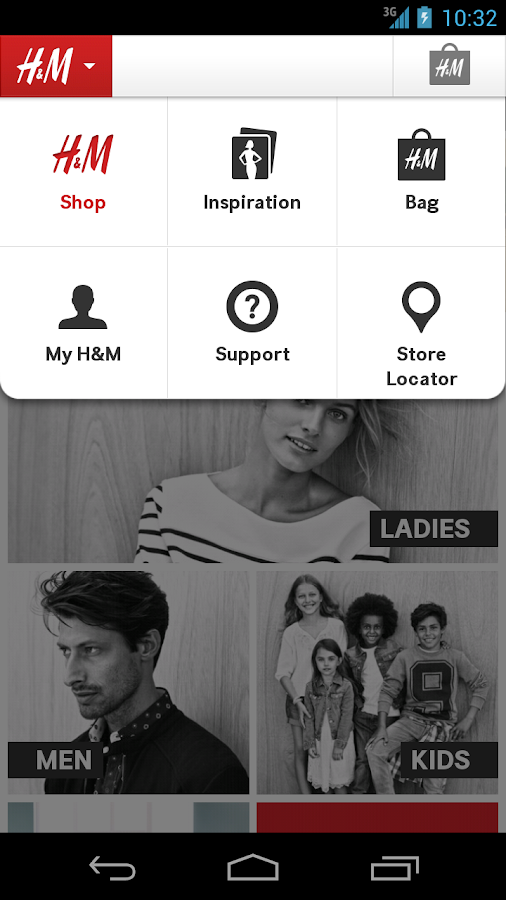 H&M - screenshot