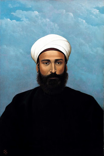 Portrait of Mohamed Darouich al Allousi