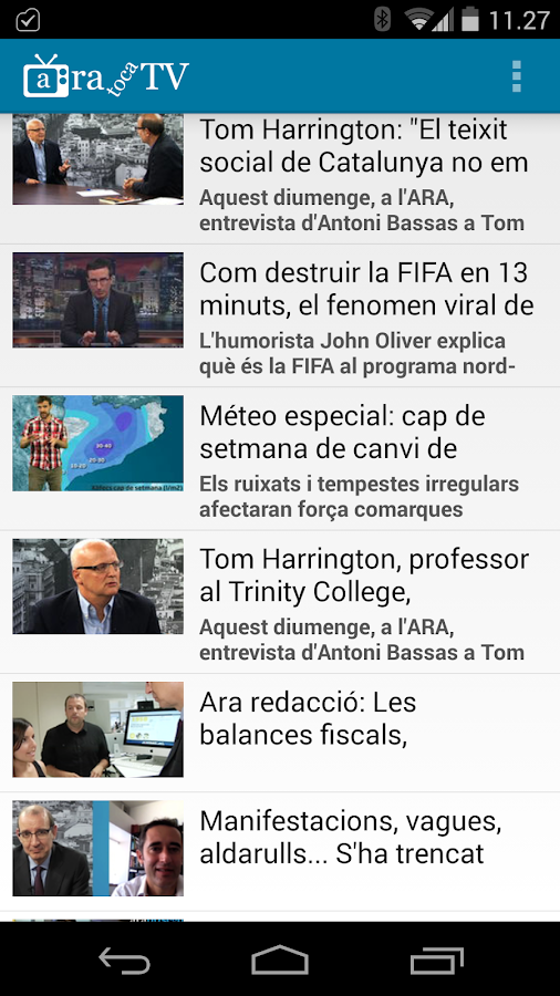 Ara toca TV- screenshot