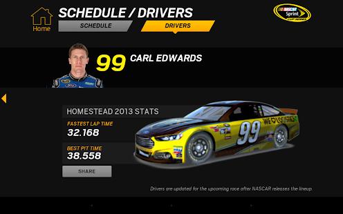 NASCAR RACEVIEW MOBILE Screenshot 29
