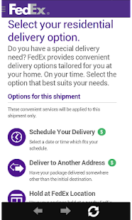 FedEx Mobile- screenshot thumbnail