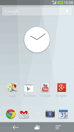 Flat design clock W -MeClock