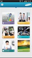 Screenshot of Samsung GALAXY Lifestyle