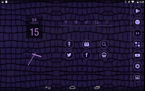 Crocodile Atom theme screenshot 5