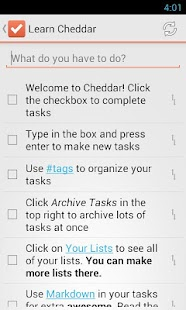 To-Do list - screenshot thumbnail