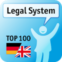 100 Legal System Keywords logo