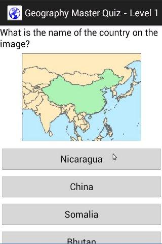 Geography Maps Quiz