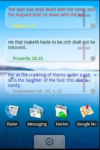 Bible Quote Widget Demo- screenshot thumbnail
