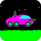 Moon Racer - 2D Retro Shooter icon