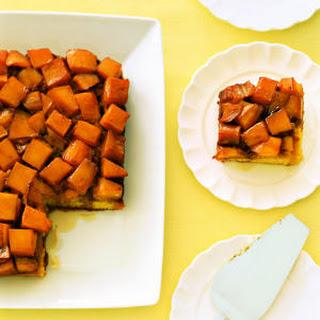 Mango Upside-Down Cake.