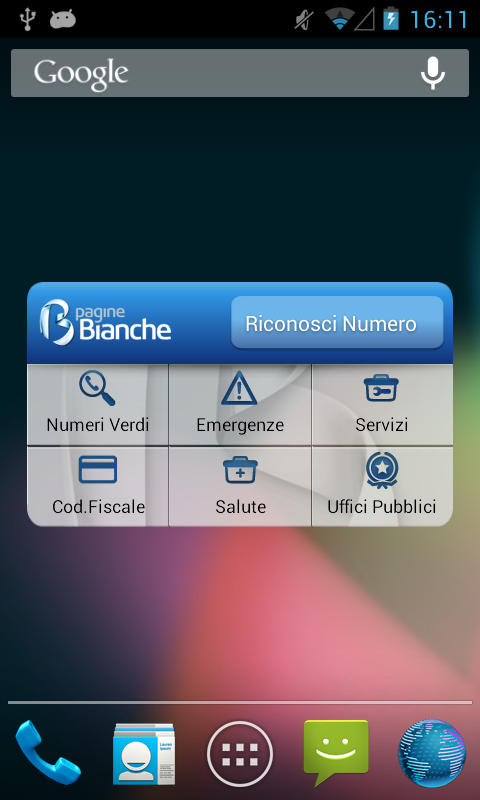 PagineBianche - screenshot